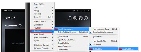 play-two-subtitles-in-KMPlayer-add-subtitles