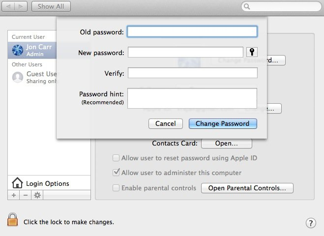 reset-administrator-account-password-on-Mac-with-another-account