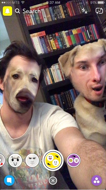 Face-swap-in-Snapchat-with-your-friends