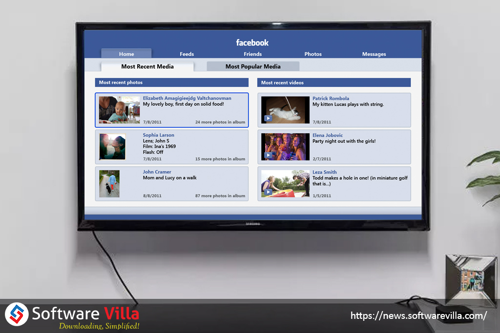 facebook is reported to launch a videofocused apple tv app