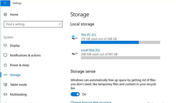 Free up disk space without lifting a finger