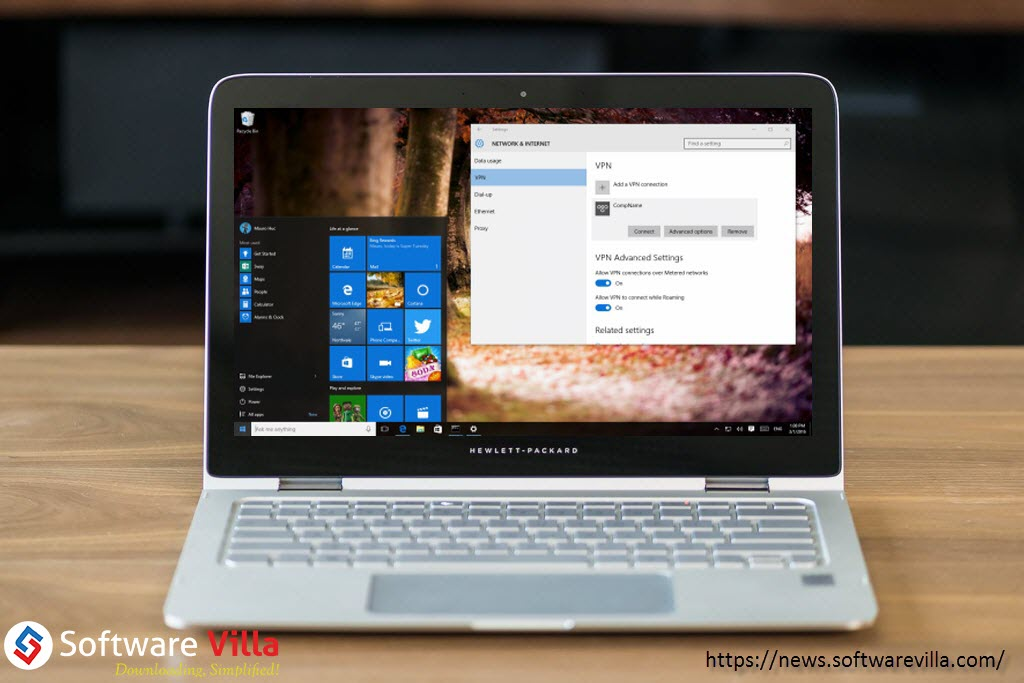 How to Connect to a VPN in Windows 10