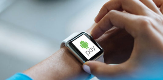 Pay Using Android Wear Smartwatch