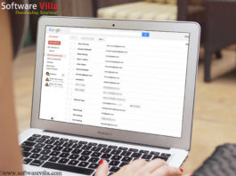 Sync contacts in Google Drive