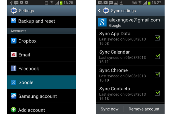sync iPhone contacts in Google drive