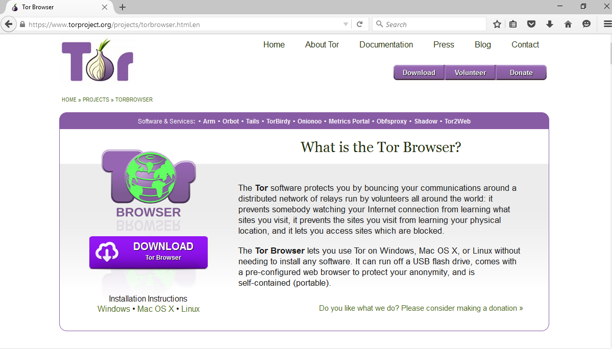 Download-Tor-Browser
