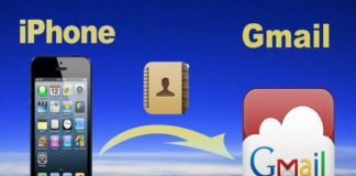 How to Import iPhone Contacts into Gmail