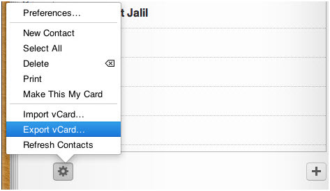 Import-iPhone-Contacts-into-Gmail-export-vcard
