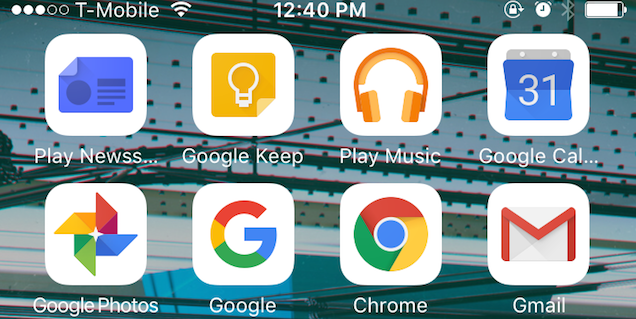 Install Google Apps for iOS