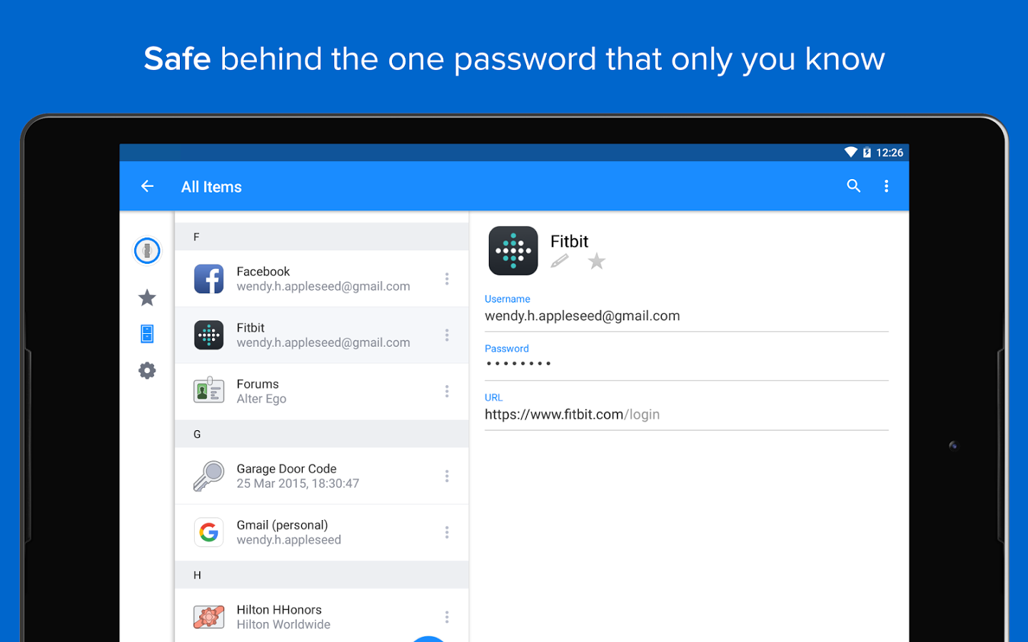 Set up a password manager