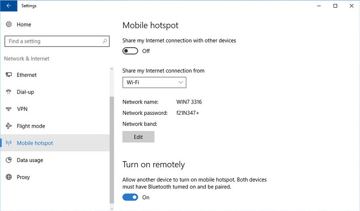 Turn your Windows PC into Wi-Fi hotspot