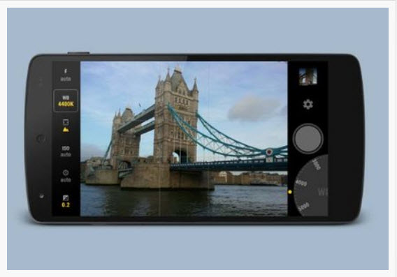Try a third-party camera app for more controls