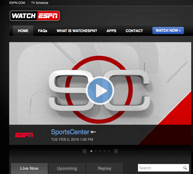 Website To Watch Live Sports