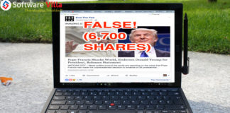 report fake news on Facebook