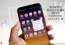 Remove Bloatware from Samsung Galaxy S8 and S8 Plus
