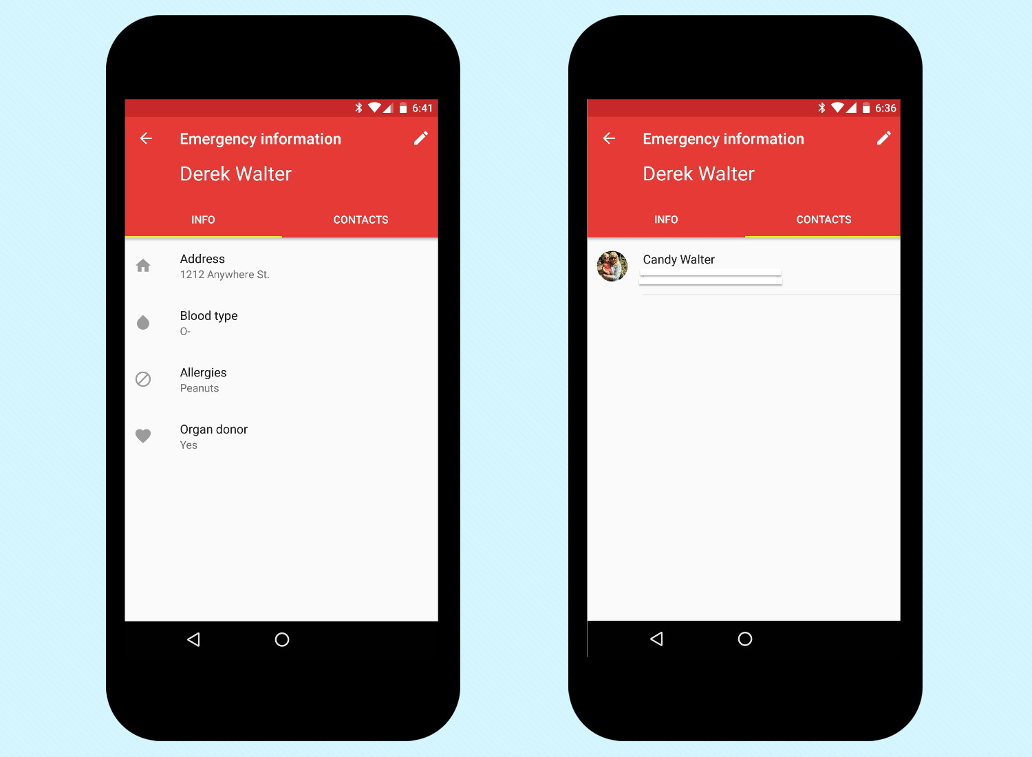 Add Emergency Info in Android Nougat - Access emergency info