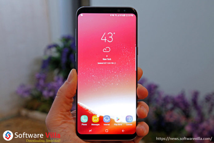 Galaxy S8 Red Screen