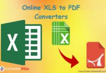 Online XLS to PDF Converters