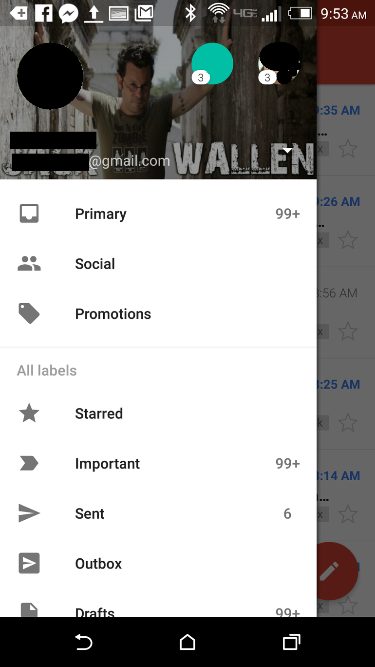 Handle Multiple Gmail Accounts - Switch between Gmail accounts on Android