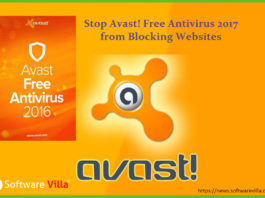 Stop Avast Free Antivirus 2017 from Blocking Websites