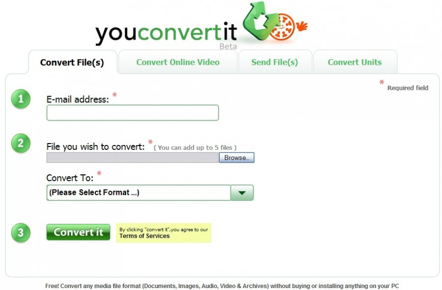 Online MP4 to MP3 Converters - YouConvertIt