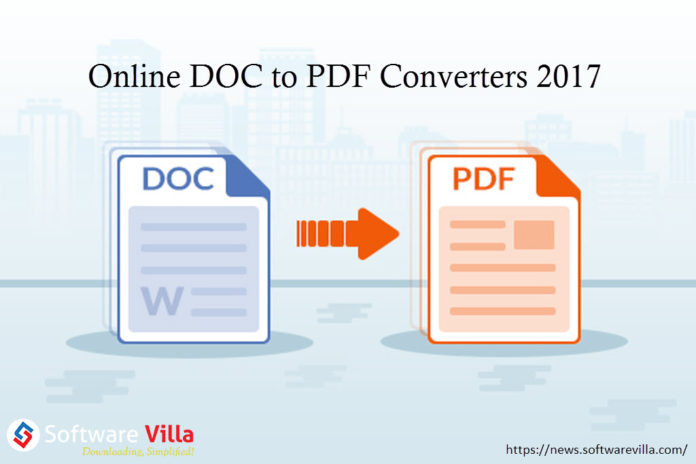 Online DOC to PDF Converters