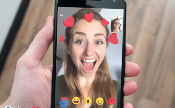 Facebook Adds Filters and Reactions