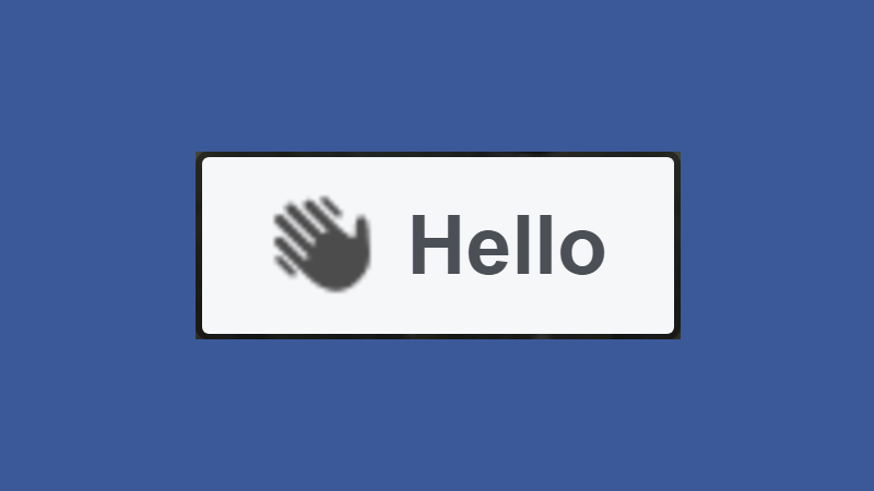Facebook Poke - Added a Hello feature