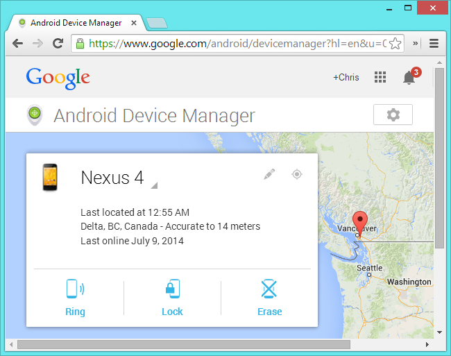 Find Android Phone Using Computer - Make the Phone Ring