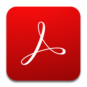 Mobile Productivity Apps - Adobe Acrobat Reader