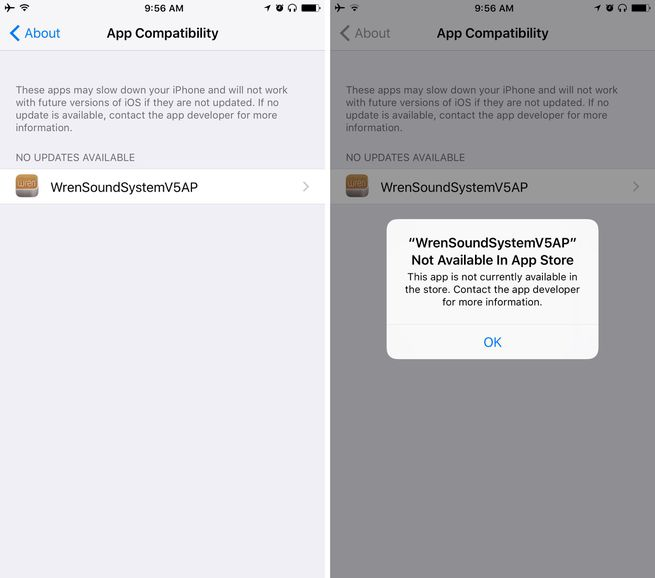 New iOS 10.3 Features - App Compatibility Status