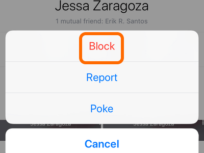 Clean up Your Facebook News Feed - Block Someone