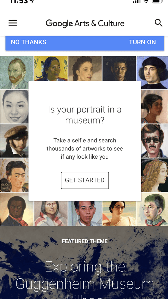 Google Art and Culture App Goes Viral