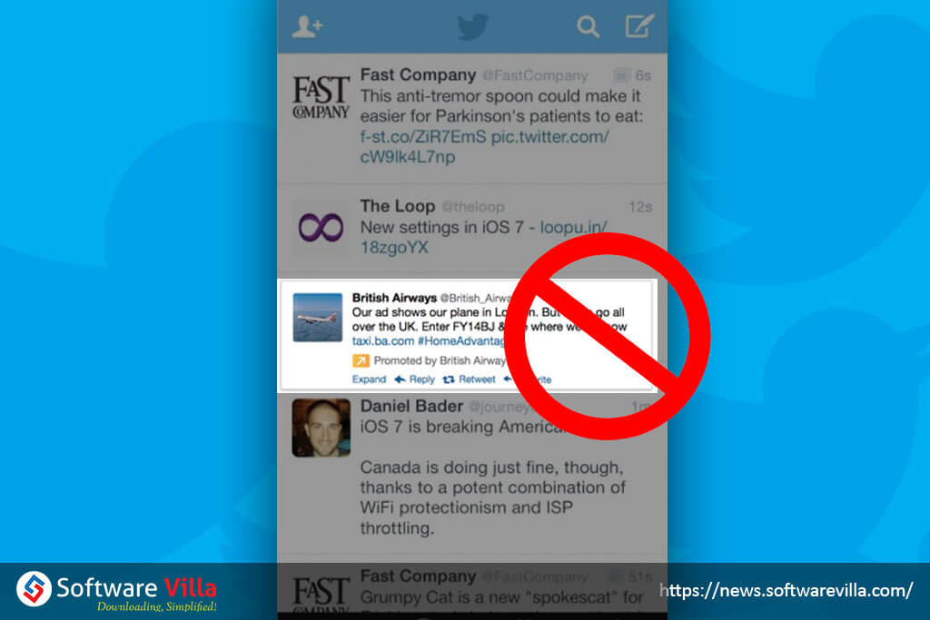 How to Block Promoted Tweets on Twitter for iPhone