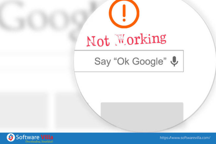 Ok Google Not Working
