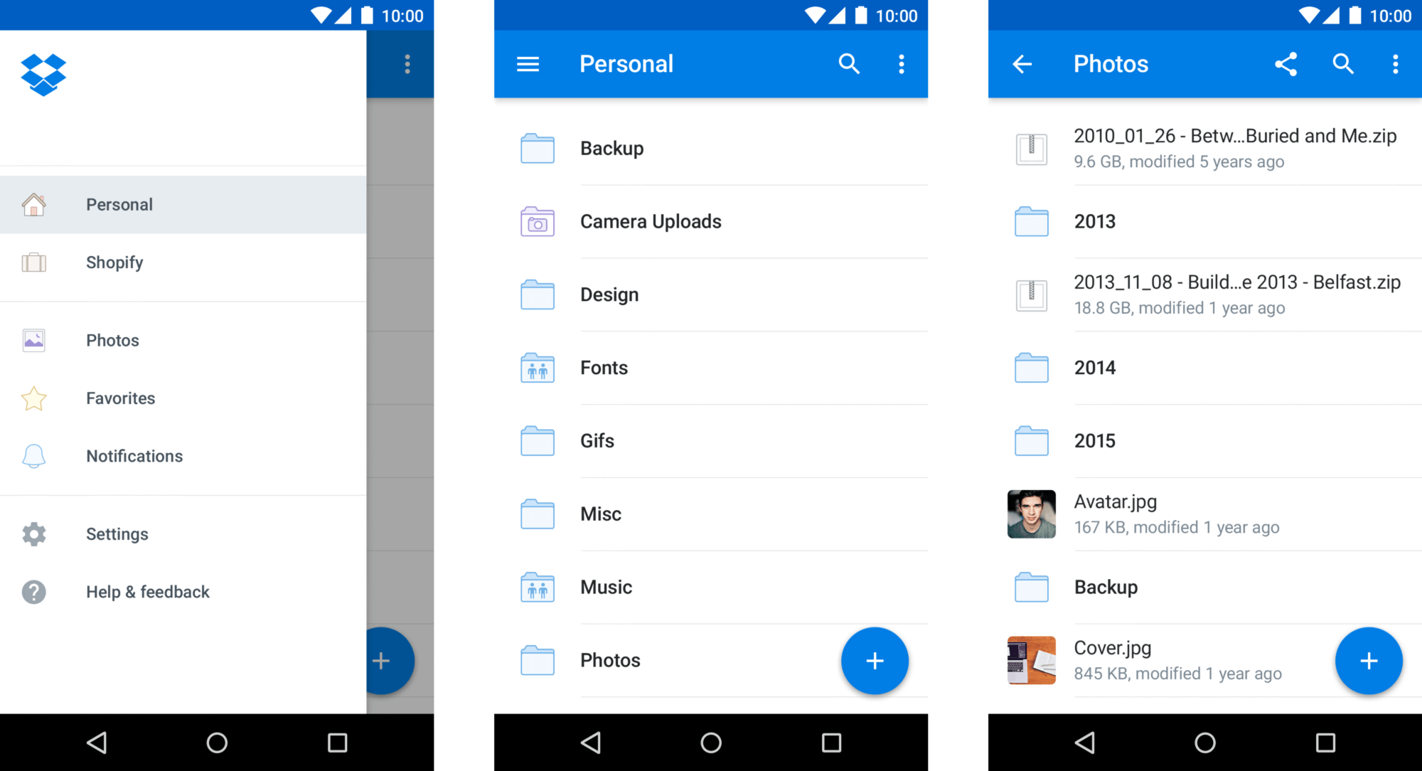 Useful Apps for Android-Dropbox (1)