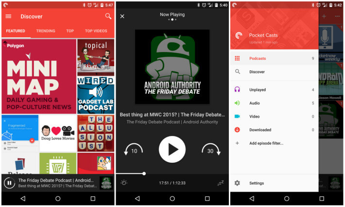 Useful Apps for Android-Pocket Casts