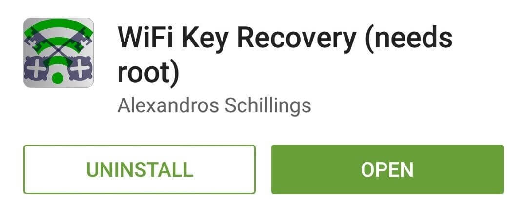 View Saved WiFi Passwords-install WiFi Key Recovery