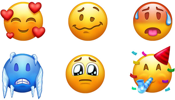 157 New Emojis - Smileys
