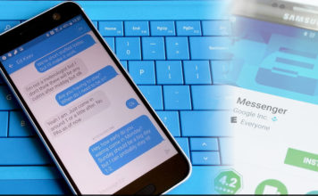Texting App on Android