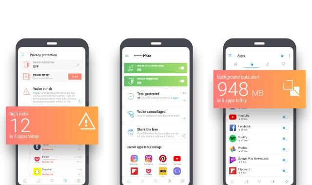 New Data and Privacy Android App