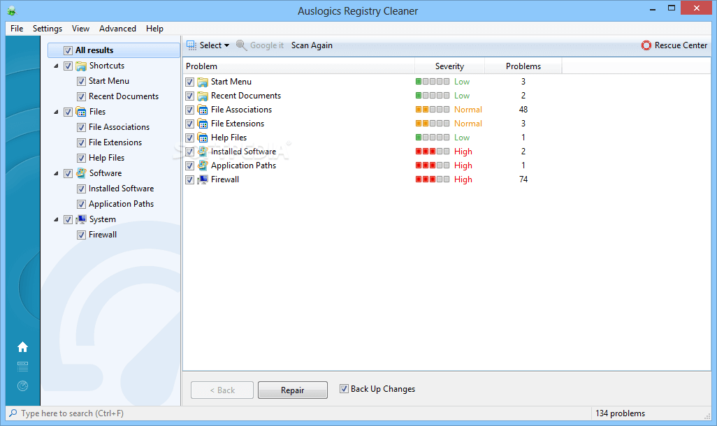 Registry Cleaners 2018-Auslogics Registry Cleaner