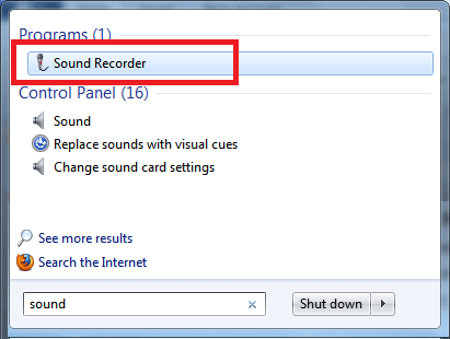 Record Voice on a Windows Computer-Default Sound Recorder-Access the Sound Recorder on Windows