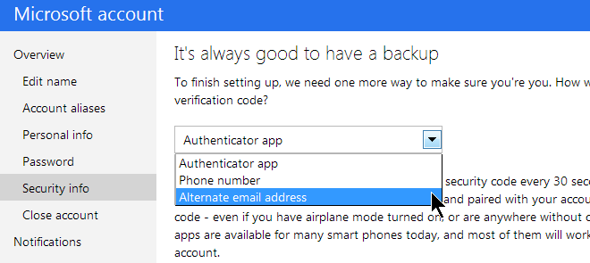 Secure Your Microsoft Account-Enable Two-factor Authentication