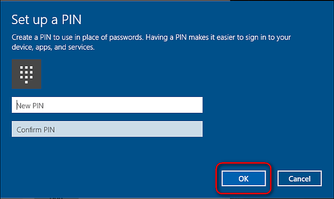 Secure Your Microsoft Account-Use a PIN to Sign into Your Windows