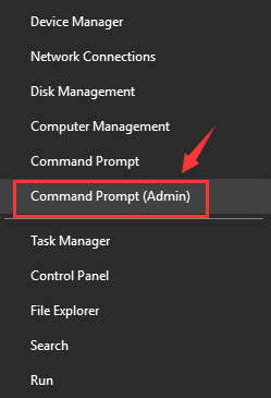 Hibernate Windows 10 Computer-Disable Hibernate-Open Command Prompt Admin