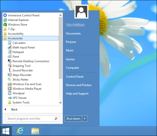 Windows 8 Tips and Tricks-Get the Classic Start Menu Back