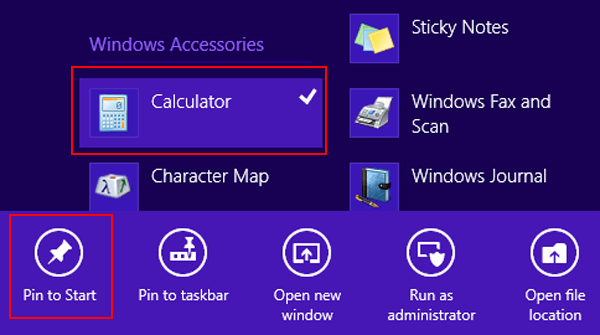 Windows 8 Tips and Tricks-Manage the Start Screen-Pin Apps to Start Screen