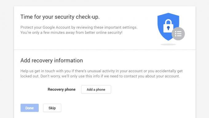 Gmail got hacked-here is how to recover it-Security Checkup page